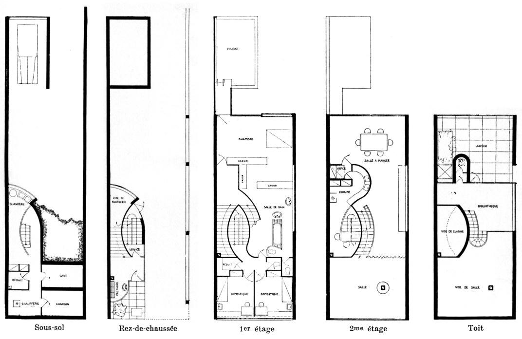 Villa Savoye Le Corbusier Floor Plan Irene Ngoc Ta Villa Savoye